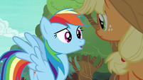 "Rainbow Dash asking ""what for?"" S6E18"