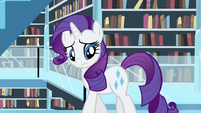 Rarity searching for book S3E1