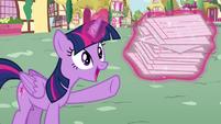 Twilight levitates flash cards S4E21