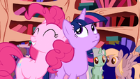 Pinkie Pie 'if it were quiet' S1E1