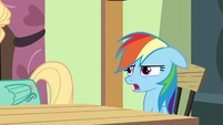 Rainbow Dash sighing exasperatedly S6E11