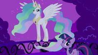Twilight Sparkle and Princess Celestia S2E03