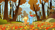 Applejack and Rainbow Dash racing fair S1E13