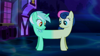 Lyra and Sweetie Drops merged together S5E13