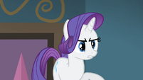 Rarity 'I gave you the fabric for accents!' S4E08
