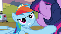 Rainbow Dash with Twilight S2E22