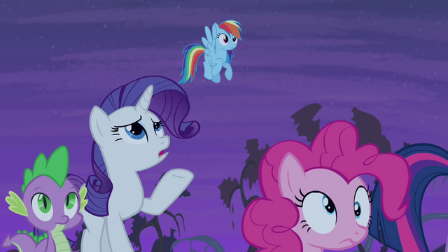 "File:Rarity ""that's not Fluttershy"" S4E07.png"