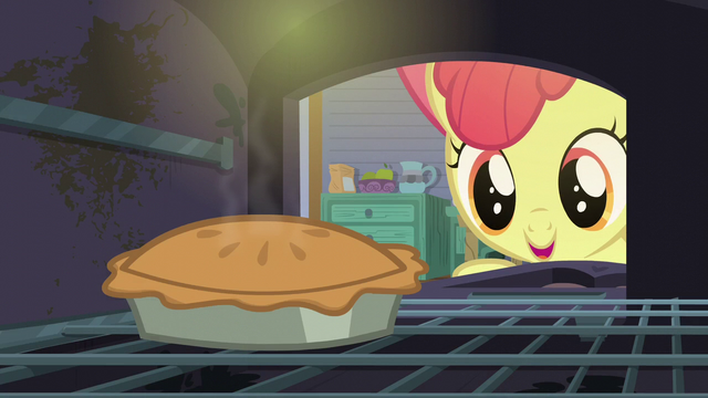 File:Apple Bloom opens a stove containing a pie S6E4.png