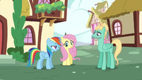 "Rainbow ""we're going to Wonderbolts Headquarters"" S6E11"