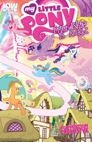 File:Comic issue 32 BronyCon 2015 cover.png