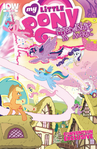 Comic issue 32 BronyCon 2015 cover