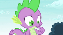 Spike in deep thought S4E23
