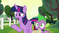 "Twilight Sparkle ""Rarity and Pinkie's fault"" S6E22"