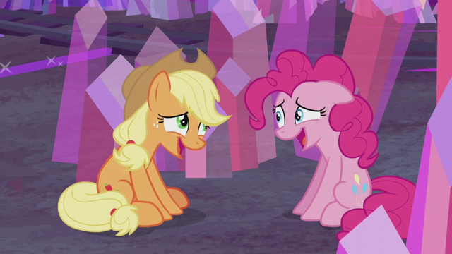 File:AJ and Pinkie share an embarrassed laugh S5E20.png