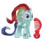 Explore Equestria Rainbow Dash translucent doll