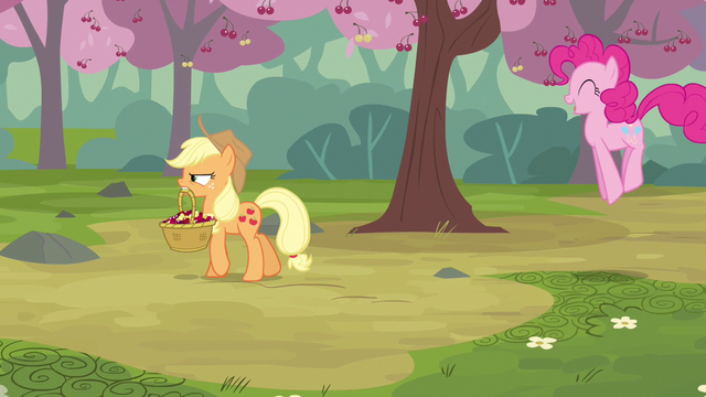 File:Pinkie Pie going about S2E14.png