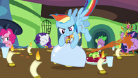 Rainbow Dash Enough of This S3E10