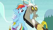 Rainbow hugging Discord S5E22
