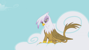 Gilda on cloud evil stare S1E05