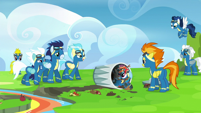 File:Wonderbolts laughing at Rainbow Dash S6E7.png