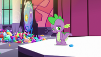 "Spike ""I used my friend's position"" S5E10"