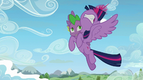 Twilight about to zap magic beam S5E26