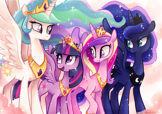 File:FANMADE The four princesses of Equestria.png