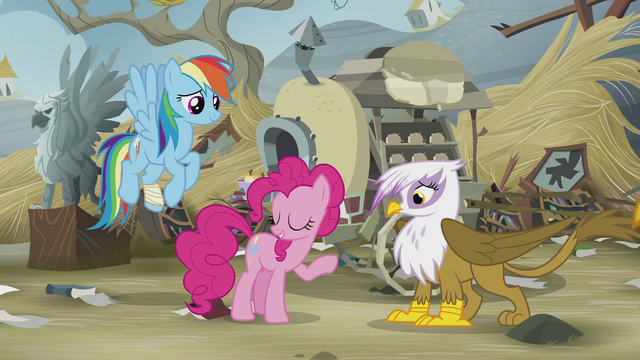 "File:Pinkie Pie ""what can I say?"" S5E8.png"
