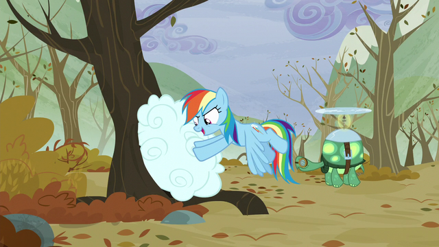 File:Rainbow pushing the clouds into a tree S5E5.png