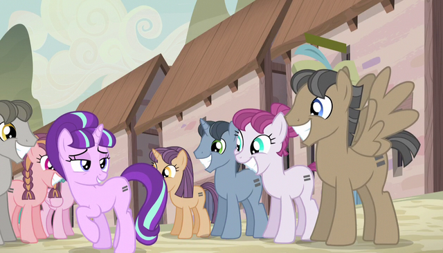 "File:Starlight ""nopony has ever come to our village"" S5E1.png"