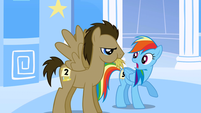 File:Dr. Hooves chewing hay S1E16.png