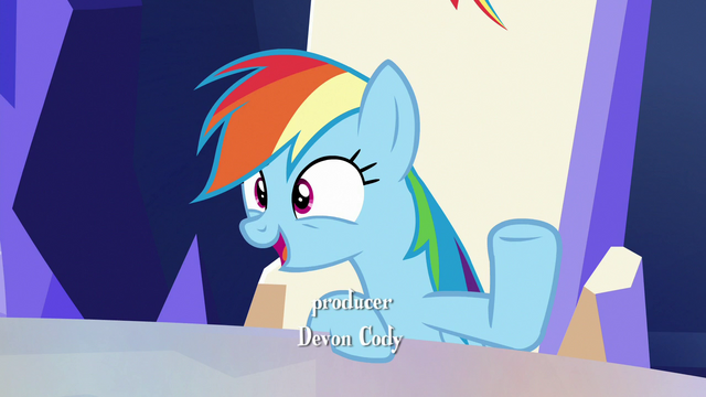 "File:Rainbow ""how could you not appreciate that?"" S6E15.png"