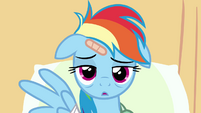 Rainbow Dash extremely bored in hospital S02E16