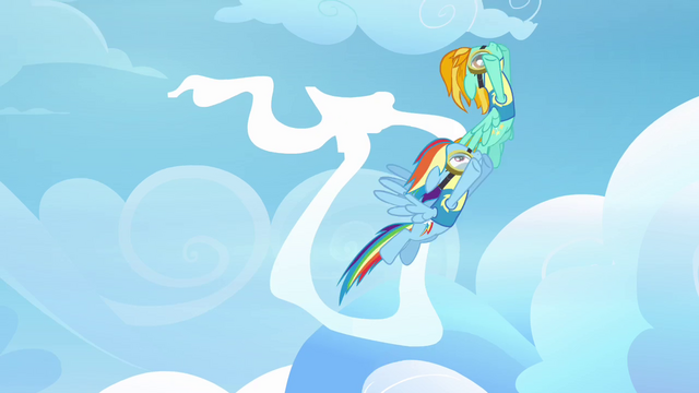 File:Rainbow and Lightning going through the cloud ring S3E07.png