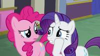 "Rarity ""it looks like it hasn't even"" S6E12"