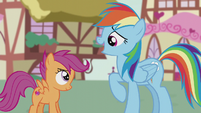 "Rainbow sings ""you've taught me a thing or two"" S5E18"