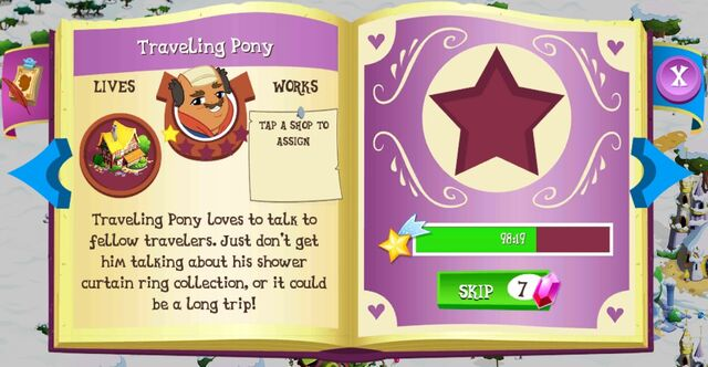 File:Traveling Pony album page MLP mobile game.jpg