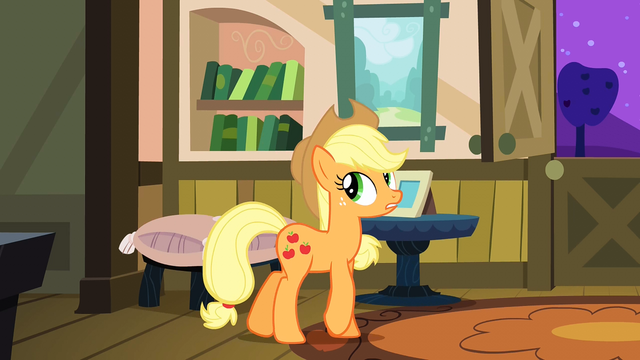 File:Applejack pacing back and forth S3E8.png