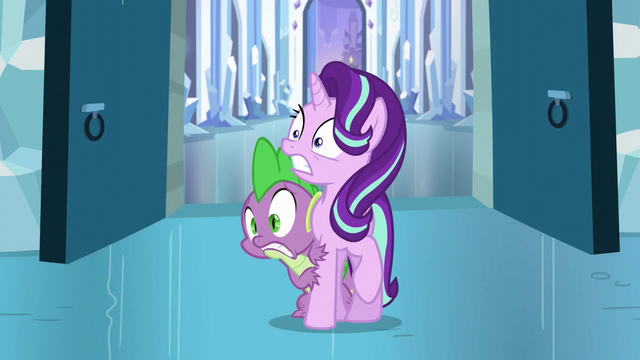 File:Starlight and Spike shocked S6E2.png