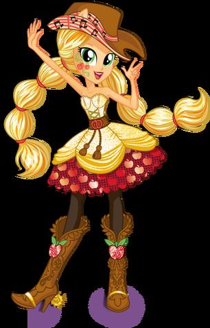 File:Applejack Rainbow Rocks character bio art 2.png