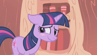 Twilight Sparkle Blush S1E6