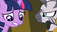 Twilight not liking she hears S2E10