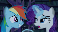 "Rarity ""I just told you"" S5E21"
