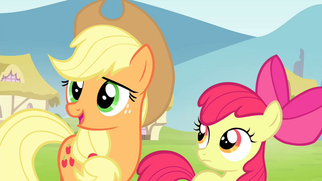 File:Applejack teaching honesty lesson S4E20.png