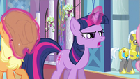 Twilight move Applejack S2E25