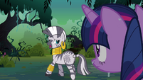 Zecora 'Your thinking needs a readjust' S3E05
