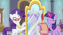 Rarity & Princess Cadance yay! S2E26