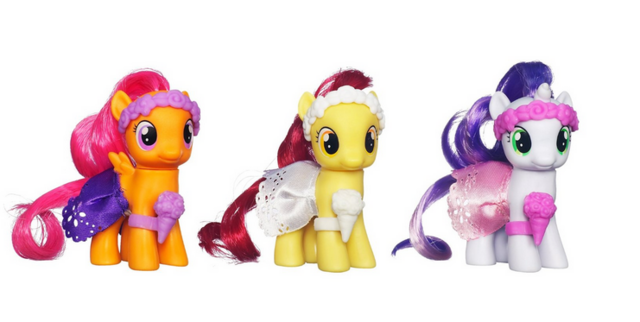 File:Cutie Mark Crusaders Wedding Flower Fillies set.png