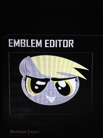 File:FANMADE Derpy Hooves Black Ops 2 Emblem.jpg