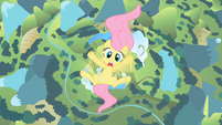 Filly Fluttershy falling S1E23
